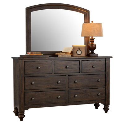 McCarthy 7 Drawer Standard Dresser