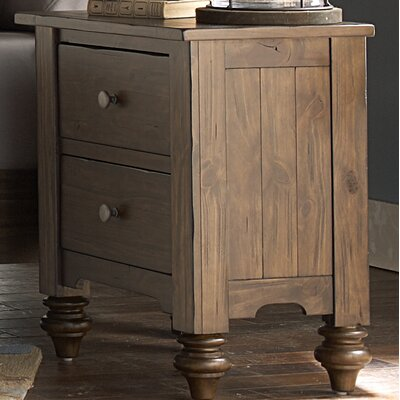 McCarthy 2 Drawer Nightstand
