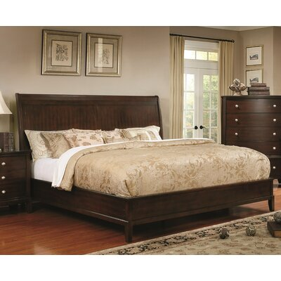 Blumer Transitional Panel Bed