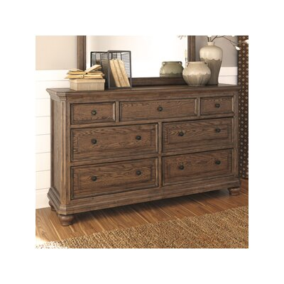 Rosella 7 Drawer Dresser with Mirror