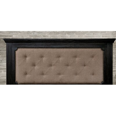 Calderwood Upholstered Panel Headboard Size: King