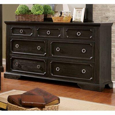 Calderwood 7 Drawer Standard Dresser