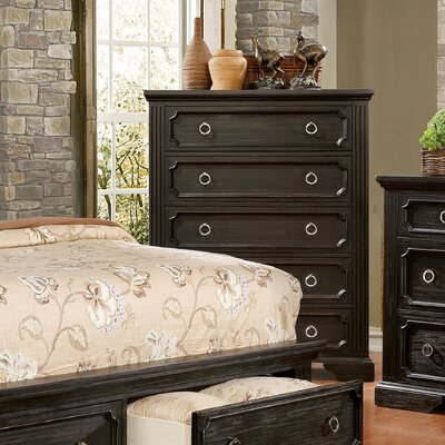 Calderwood 5 Drawer Standard Chest