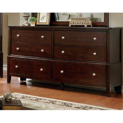 Blumer 6 Drawer Standard Dresser