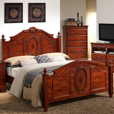 Cavender Panel Bed Size: King