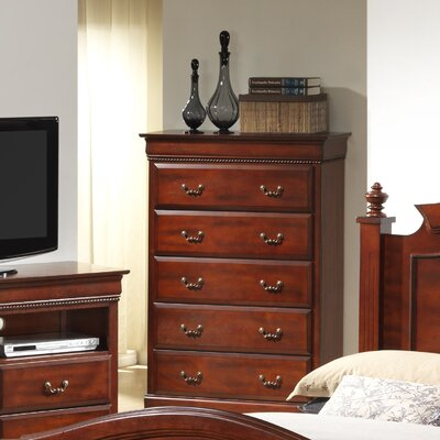 Cavender 5 Drawer Standard Chest