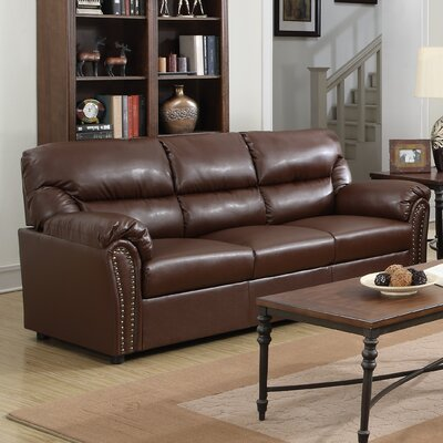 Childress Sofa Upholstery: Brown