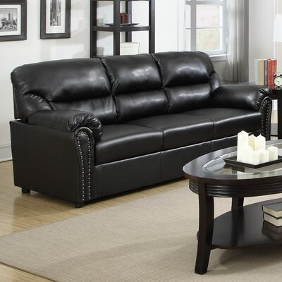 Childress Sofa Upholstery: Black