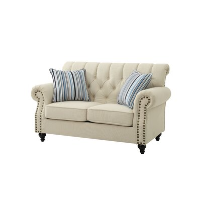 Darby Home Co DBYH3380 Waldroup Loveseat