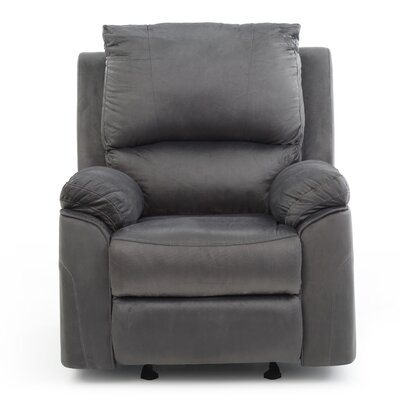 Winborne Manual Rocker Recliner Color: Gray