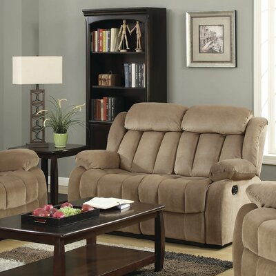 Gibsonia Reclining Loveseat Color: Mocha