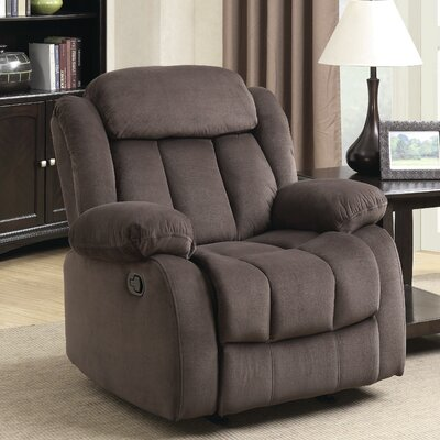 Gibsonia Manual Rocker Recliner Color: Brown