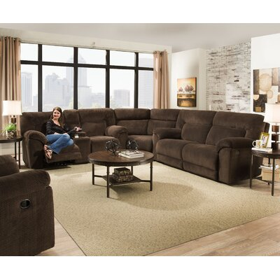 Darby Home Co DBYH3494 Radcliff Reclining Sectional