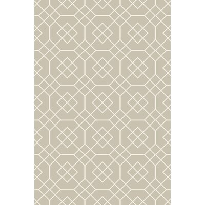 Packard Sea Foam/Ivory Geometric Rug Rug Size: Rectangle 9 x 13