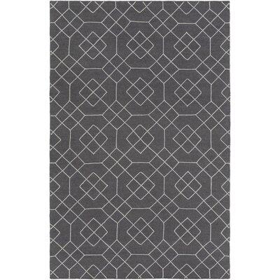 Packard Charcoal Geometric Rug Rug Size: 9 x 13