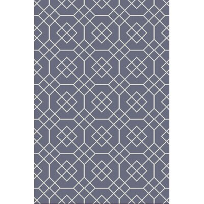Packard Slate Geometric Rug Rug Size: Rectangle 2 x 3