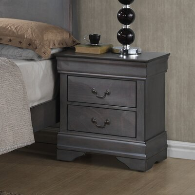 Labrecque 2 Drawer Nightstand
