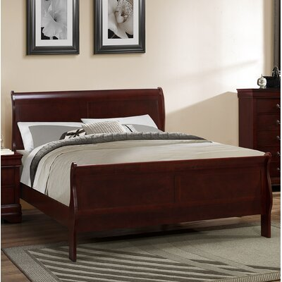 Caldello Platform Bed Finish: Cherry