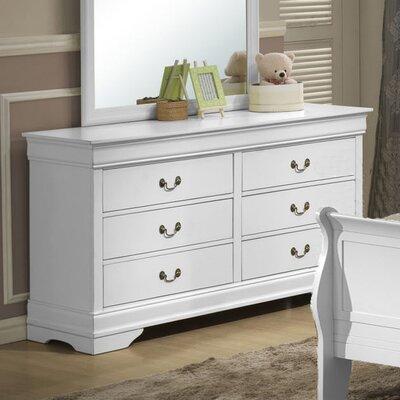 Caldello 6 Drawer Double Dresser