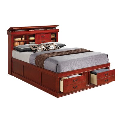 Tina Traditional Platform Bed Size: King