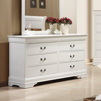 Caldello 6 Drawer Dresser