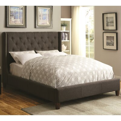 Cecily Upholstered Panel Bed Size: California King