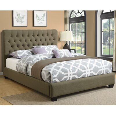 Octavia Upholstered Panel Bed Size: Twin
