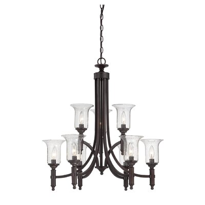 Timberlake 9-Light Candle-Style Chandelier