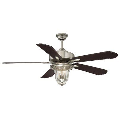 52 Timberlake 5-Blade Ceiling Fan with Remote