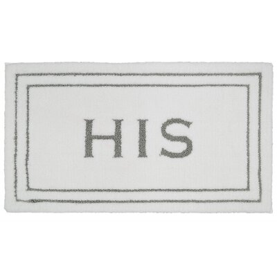 Longfellow His Bath Rug Size: 0.25 H x 24 W x 40 D, Color: Flint