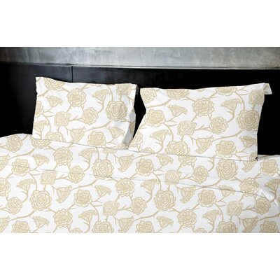 Eberle Duvet Set Size: Queen, Color: Yellow
