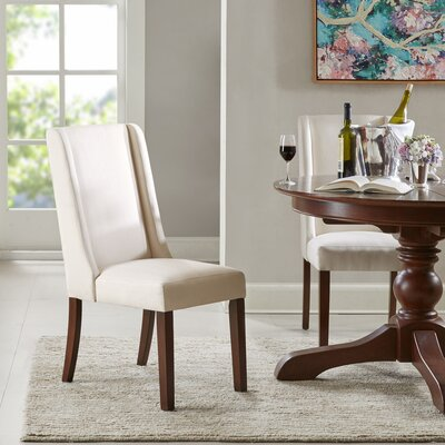 Granderson Wing Side Chair Upholstery: Cream
