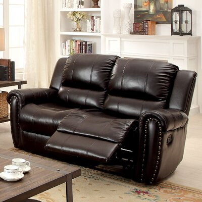 Vargas Transitonal Reclining Loveseat