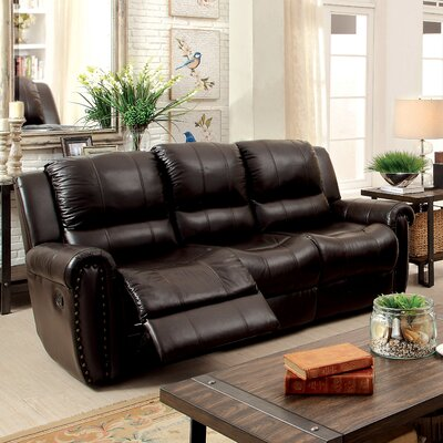 Vargas Transitonal Reclining Sofa