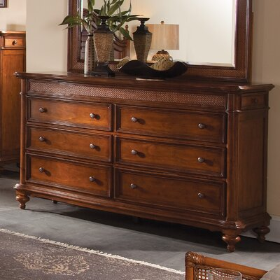 Bernadine 8 Drawer Double Dresser