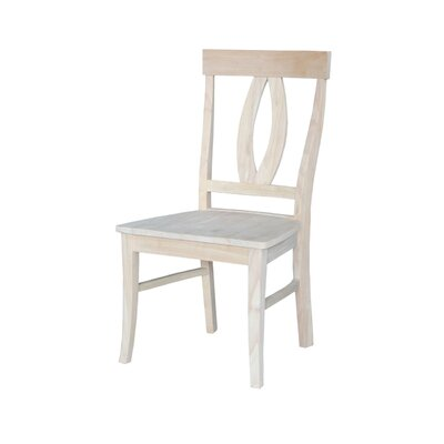 Altman Solid Wood Dining Chair Finish: Unfinished