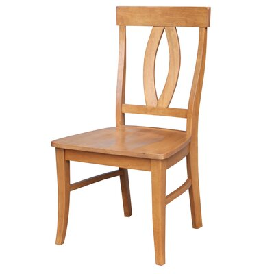 Altman Solid Wood Dining Chair Finish: Aged Cherry
