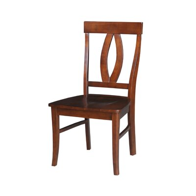 Altman Solid Wood Dining Chair Finish: Espresso
