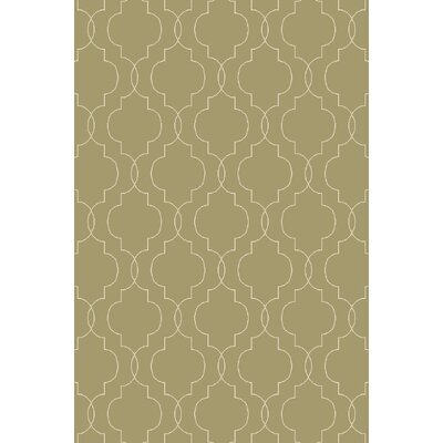 Freudenburg Hand Woven Wool Olive Area Rug Rug Size: Rectangle 2 x 3