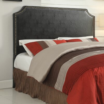 Oscar Uphostered Panel Headboard Size: King