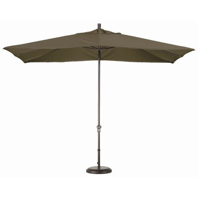 Chase 8 x 11 Rectangle Market Umbrella Fabric: Sunbrella A Cocoa