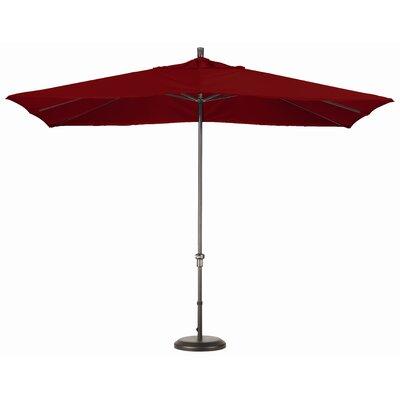 Chase 8 x 11 Rectangle Market Umbrella Fabric: Sunbrella AA Terracotta