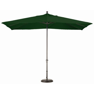 Chase 8 x 11 Rectangle Market Umbrella Fabric: Sunbrella A Forest Green