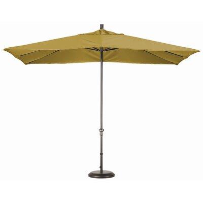 Chase 8 x 11 Rectangle Market Umbrella Fabric: Sunbrella A Brass