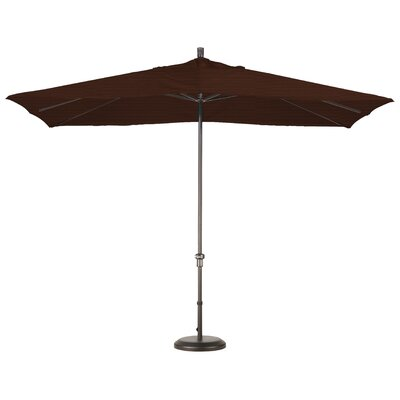 Chase 8 x 11 Rectangle Market Umbrella Fabric: Granite