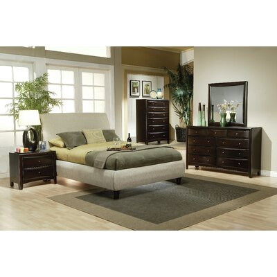 Cornwall Queen Upholstered Sleigh Bed