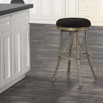Daugherty 26 Swivel Indoor/Outdoor Patio Bar Stool