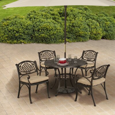 Devon 5 Piece Bistro Set