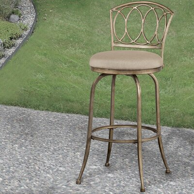 Dolan 26 Swivel Indoor/Outdoor Patio Bar Stool