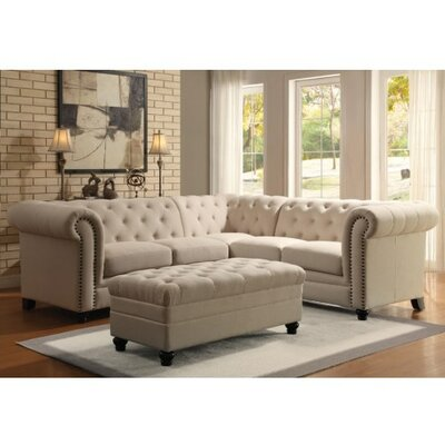 Halifax Sectional Upholstery: Oatmeal